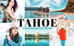 40 پریست لایت روم و Camera Raw و اکشن کمرا راو فتوشاپ Tahoe Lightroom Presets