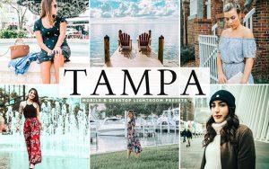 40 پریست لایت روم و Camera Raw و اکشن کمرا راو فتوشاپ Tampa Lightroom Presets