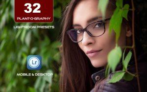 ۳۲ پریست لایت روم طبیعت تم گیاه Plant-o-graphy Lightroom Presets