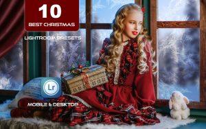 10پریست لایت روم حرفه ای تم بهترین کریسمس Best Christmas Ever Lightroom Presets