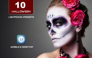 10 پریست لایت روم حرفه ای جشن هالووین Halloween Scary Lightroom presets