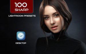 100 پریست لایت روم و کمرا راو حرفه ای Sharp Lightroom and ACR Presets