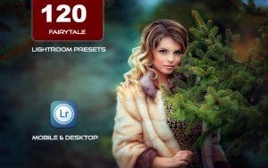 120 پریست لایت روم و پریست کمرا راو فتوشاپ و لات رنگی تم افسانه Fairytale Lightroom Presets