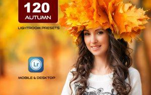 120 پریست لایت روم و پریست کمرا راو فتوشاپ و LUTs تم پاییز Autumn Lightroom Presets LUTs