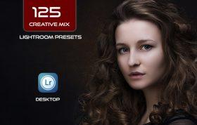 125 پریست لایت روم آپدیت 1400 حرفه ای Creative Mix Lightroom Presets