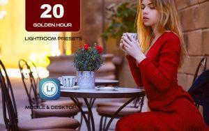 20 پریست لایت روم رنگی تم غروب آفتاب Golden Hour Sunset Lightroom Presets
