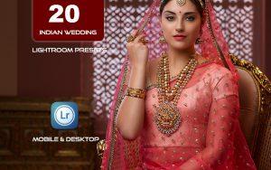20 پریست لایت روم عروسی تم عروس هند Indian Wedding Lightroom Presets