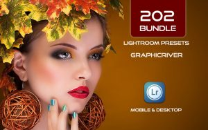 202 پریست لایت روم و پریست کمرا راو فتوشاپ Lightroom Presets Bundle