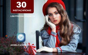 30 پریست لایت روم اینستاگرام و پریست کمرا راو فتوشاپ Instachrome Lightroom Presets