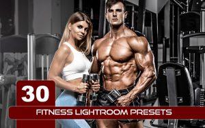 30 پریست لایت روم و پریست کمرا راو فتوشاپ ورزش بدنسازی Fitness Lightroom Presets