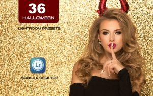 36 پریست ترسناک لایت روم جشن هالووین Halloween Lightroom Presets