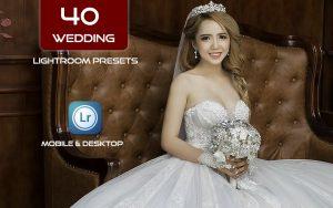 40 پریست لایت روم عروسی دسکتاپ و موبایل The Wedding Lightroom Presets