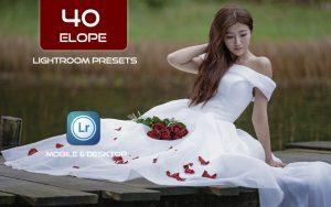 40 پریست لایت روم عروسی و کمرا راو و اکشن کمرا راو فتوشاپ Elope Lightroom Presets