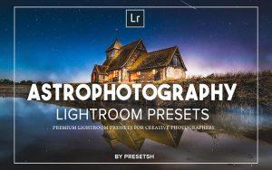 40 پریست لایت روم و پریست کمرا راو فتوشاپ تم ستاره شناسی Astro Photography Lightroom Presets