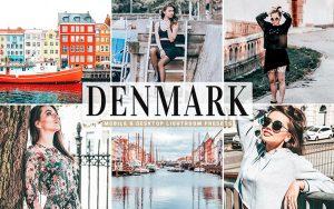 40 پریست لایت روم و کمرا راو و اکشن کمرا راو فتوشاپ تم دانمارک Denmark Lightroom Presets