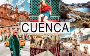 40 پریست لایت روم و کمرا راو و اکشن کمرا راو فتوشاپ Cuenca Lightroom Presets