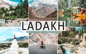 40 پریست لایت روم و کمرا راو و اکشن کمرا راو فتوشاپ Ladakh Lightroom Presets