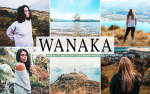 40 پریست لایت روم و کمرا راو و اکشن کمرا راو فتوشاپ Wanaka Lightroom Presets