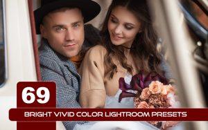 69 پریست لایت روم عکس خانوادگی BRIGHT VIVID COLOR LIGHTROOM PRESETS