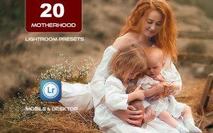 ۲۰ پریست لایت روم مادر و کودک حرفه ای Motherhood mom blogger Lightroom Presets