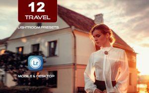 12 پریست لایت روم سفر و مسافرت حرفه ای Travel Lightroom Presets Pack