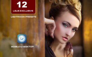 12 پریست لایت روم و پریست کمرا راو فتوشاپ LGUS Exclusive Presets lightroom