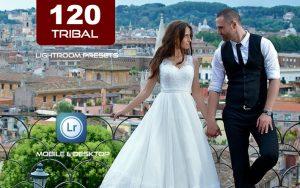120 پریست لایت روم عروسی و پریست کمرا راو فتوشاپ و لات رنگی Tribal wedding Lightroom Presets
