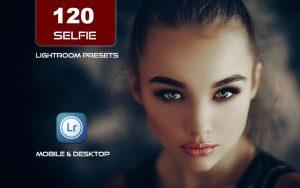 120 پریست لایت روم پرتره 2021 حرفه ای تم عکس سلفی Selfie Presets Lightroom