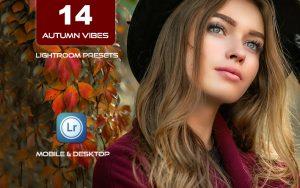 14 پریست لایت روم رنگی فصل پاییز Autumn Vibes Lightroom Presets