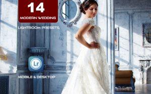 14 پریست لایت روم عروسی مدرن Modern Wedding Lightroom Presets
