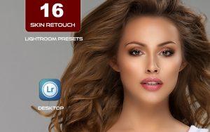 16 پریست لایت روم رتوش چهره 2021 پرتره Skin Retouch Pro Lightroom Presets