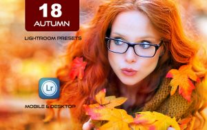 18 پریست لایت روم و پریست کمرا راو فتوشاپ فصل پاییز Autumn Lifestyles Presets