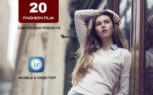 20 پریست مدرن لایت روم عکس فشن و مدلینگ Fashion Film Lightroom Presets