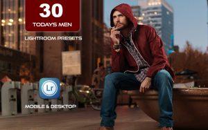 30 پریست لایت روم حرفه ای رنگی تم مد مردانه Todays Men Lightroom Presets