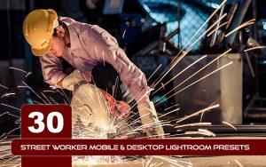30 پریست لایت روم رنگی تم کار خیابانی Street Worker Lightroom Presets