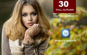 30 پریست لایت روم رنگی 2021 عکس پاییز Fall Autumn Lightroom Presets