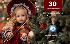 30 پریست لایت روم کریسمس 2021 حرفه ای CHRISTMAS Lightroom Preset