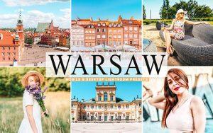 40 پریست لایت روم و کمرا راو و اکشن کمرا راو فتوشاپ تم ورشو پایتخت لهستان Warsaw Lightroom Presets