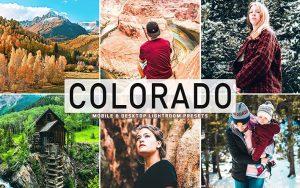 40 پریست لایت روم و کمرا راو و اکشن کمرا راو فتوشاپ تم کلرادو آمریکا Colorado Lightroom Presets