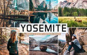 40 پریست لایت روم و کمرا راو و اکشن کمرا راو فتوشاپ تم یوسمتی کالیفرنیا Yosemite Lightroom Presets