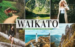 40 پریست لایت روم و کمرا راو و اکشن کمرا راو فتوشاپ Waikato Lightroom Presets