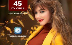 45 پریست لایت روم 2021 تم رنگی شاد Oh So Colorful Lightroom Presets