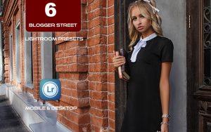 6 پریست لایت روم بلاگر تم عکس استایل خیابانی Blogger Street Lightroom Presets