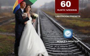 60 پریست لایت روم تم عروسی و عشق روستایی Rustic Wedding Lightroom Preset Pack